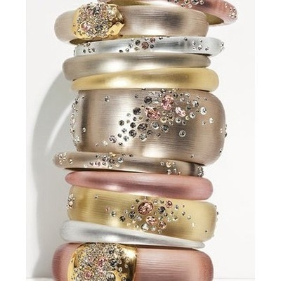 Gasp!: Arm Candy, Dream Rings, Bracelets, Gold Rings, Bangles, Accessories, Pink Bling, Alexisbittar, Alexis Bittar