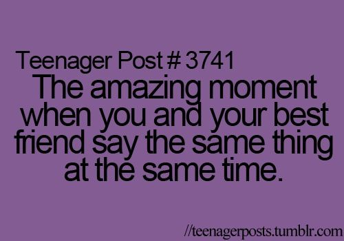 Not a teenager anymore. But my hubby n I do this DAILY!!