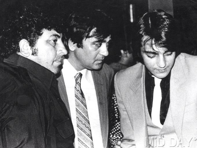 Amjad Khan , Sunil Dutt and Sanjay Dutt