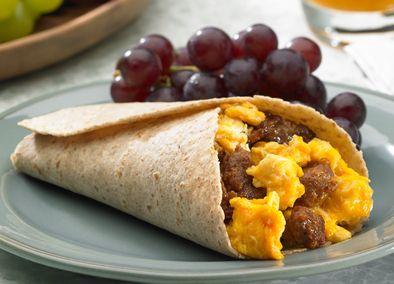 Johnsonville Chorizo Breakfast Burrito *****Very good breakfast!*****