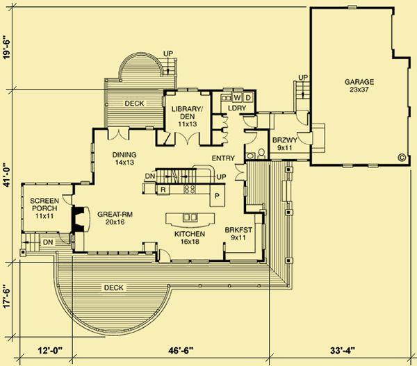 Plan 73360hs Exclusive Storybook Craftsman House Plan: Architectural House Plans : Floor Plan Details : Maple