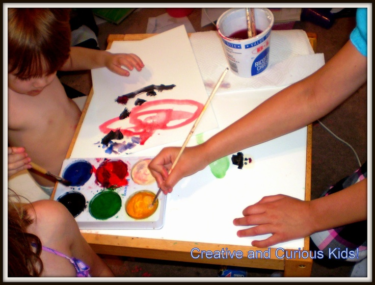 Art inspired by song with Eric CarlePreschool Artcrafts