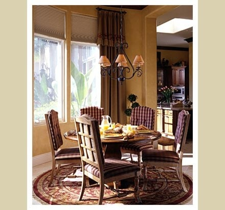 Traditional Dining Room Decorative Drapery Hardware Design Pictures Remodel Decor And Ideas