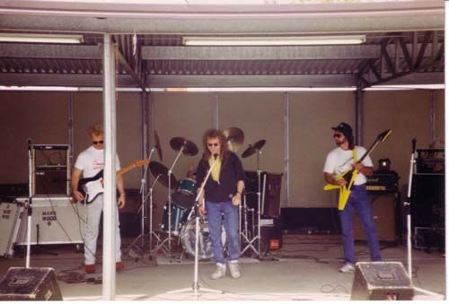 At a Southern California Pontiac club show in 1994 members were treated to an afternoon jam with Bruce and one of his friends - Lou Graham - the lead singer from Foreigner