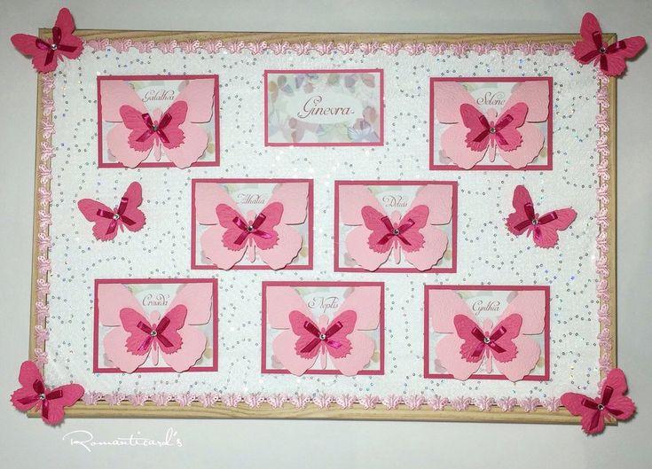 Tableau motivo Farfalla by Romanticards, by Romanticards e Little Rose Handmade, 65,00 € su misshobby.com
