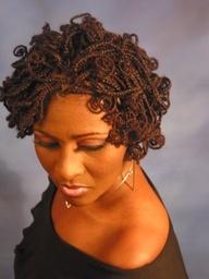 Coil Braids African American.