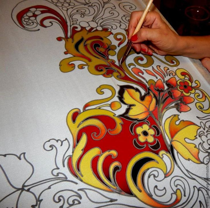 17 Best Images About Silk Painting On Pinterest
