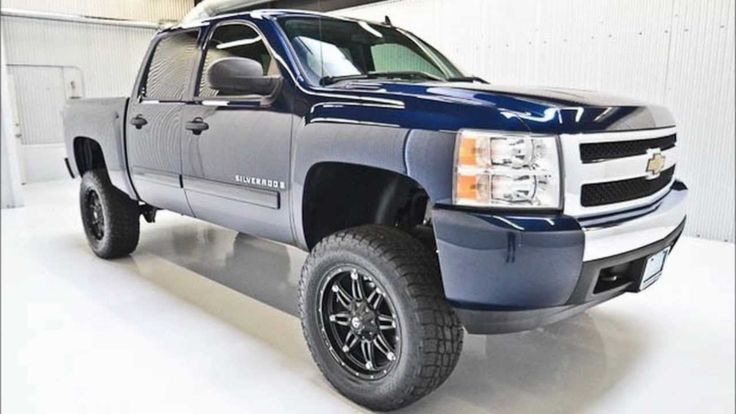 2008 Chevy Silverado 2WD Lifted Truck For Sale