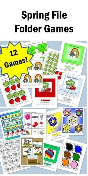 preschool classroom games 23 best images about file folder printable 453