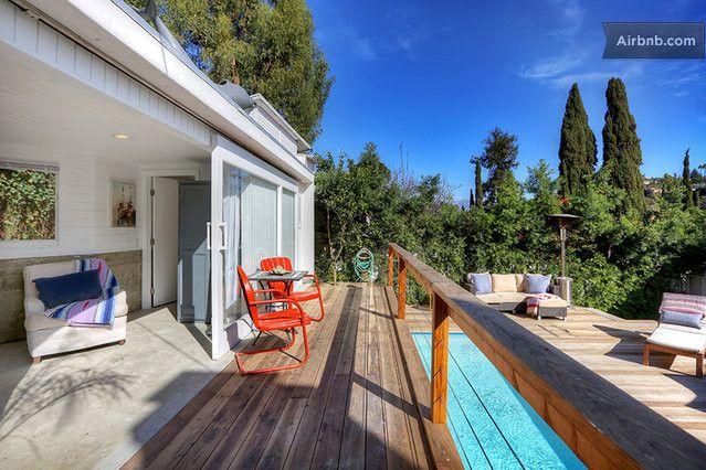 Sun-bathed deck.  23$ discount www.airbnb.pl/c/kkuhn4