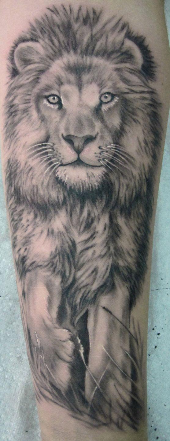 tattoo lion portrait by ~stilbruch-tattoo on deviantART