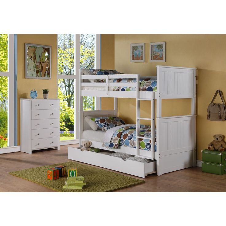 Lyke Home Shae Wood / Bunkbed with Storage