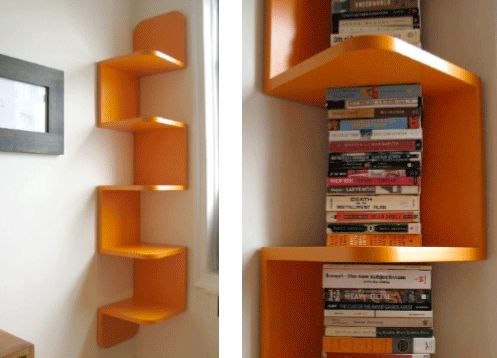 114 best ideas about for the home on pinterest spice for Funky shelving ideas