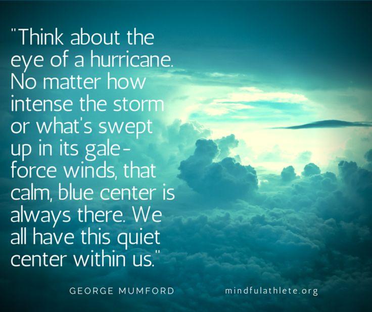 The Blog — The Mindful Athlete Mumford Hurricane