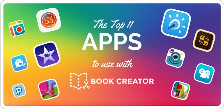 We asked our Book Creator Ambassadors to choose their favourite apps for smashing with Book Creator. Here's their top choices.