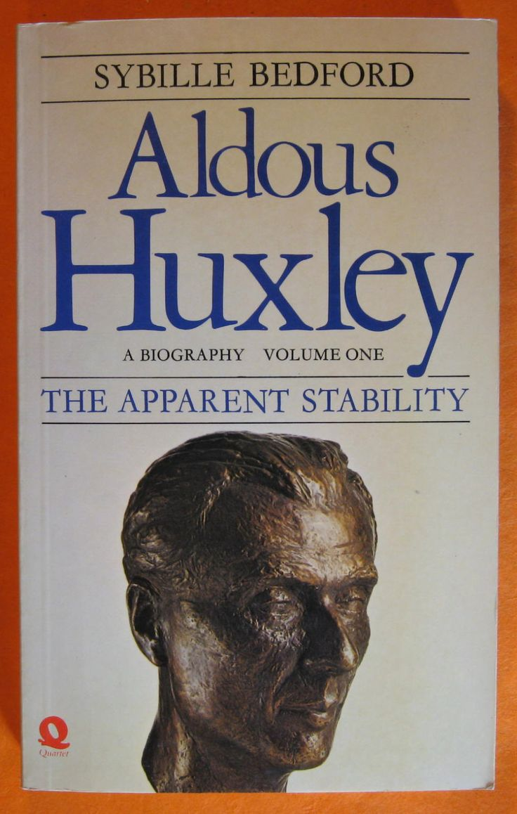 Aldous Huxley, A Biography, Volume 1: The Apparent Stability 1894-1939 by Sybille Bedford by Pistilbooks on Etsy
