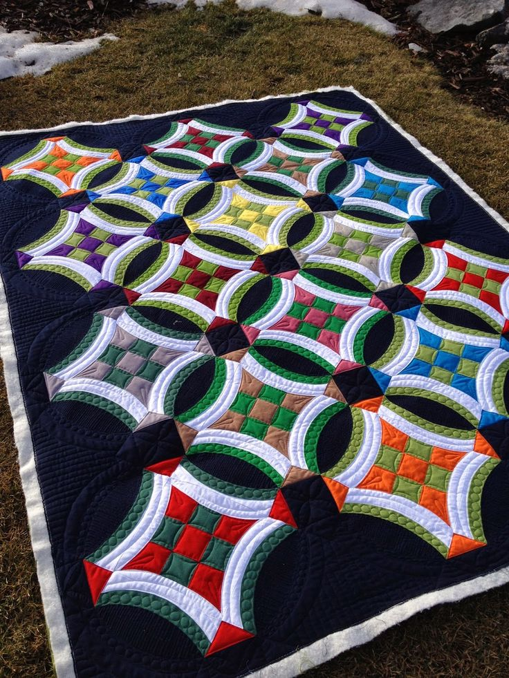 Millions of Thoughts and Urban Quiltworks: Urban 9 Patch quilt