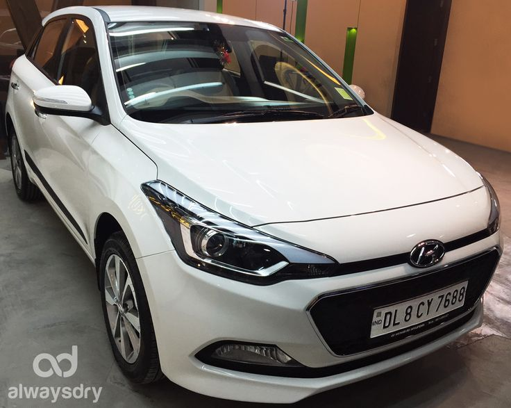 Brand new #Hyundai #i20 opts for a super smooth experience The world class nano ceramic coating – 9H LDC Pro covers it all right from protection to long-lasting shine. Always Dry stresses on Perfection #PaintCorrection Book now and see the difference in your car!!