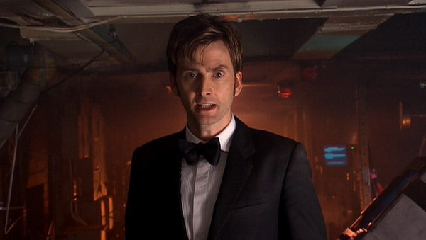 """I'm the Doctor. I'm a Timelord. I'm from the planet Gallifrey in the constellation of Kasterborous. I'm 903 years old and I'm the man who's going to save your lives and all 6 billion people on the planet below."""