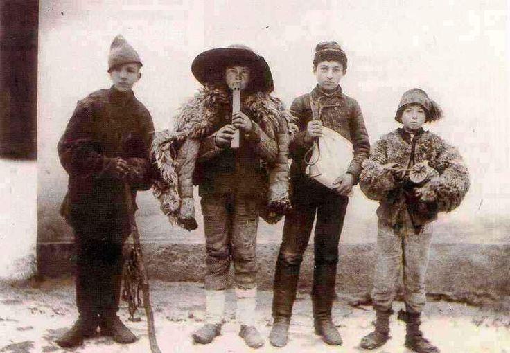 Regösök a Zala megyei Garaboncon, 1900