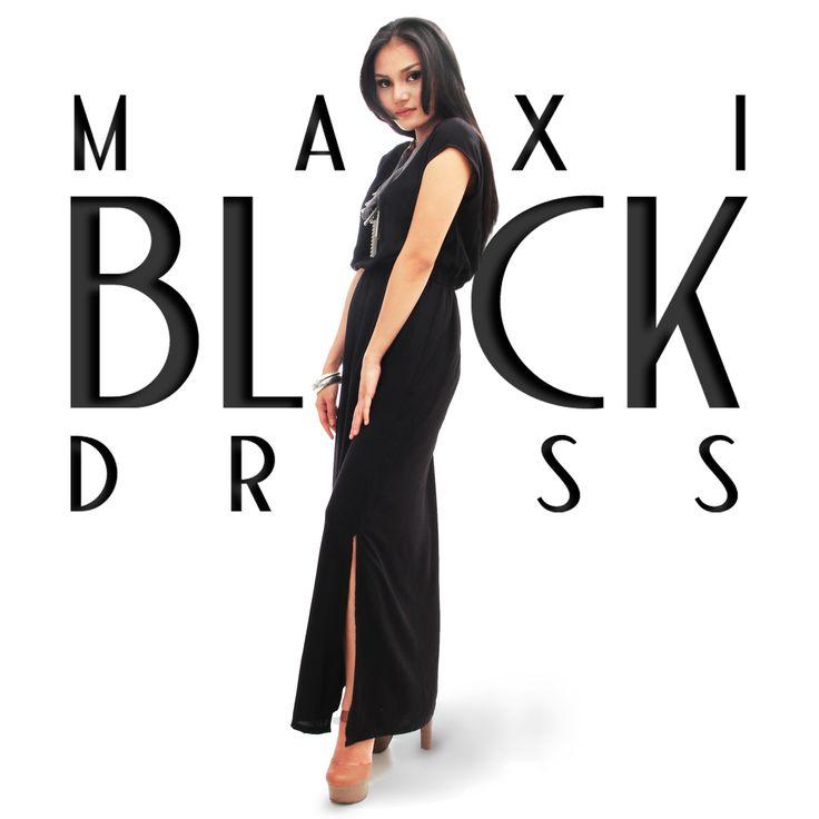 maxi dress_go black