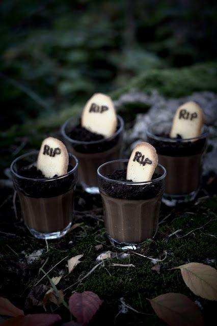 Gourmandises Chroniques: Entremet d'Outre-tombe pour Halloween