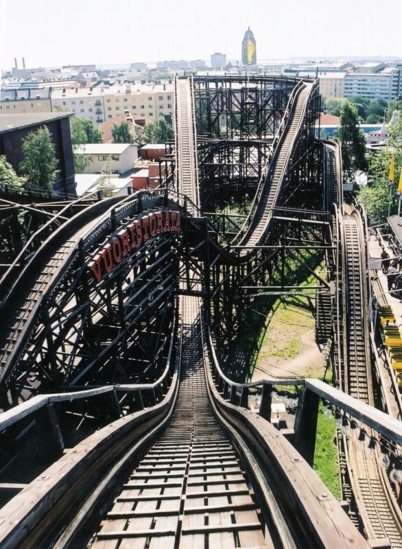 Rollercoaster, Linnanmäki, Helsinki