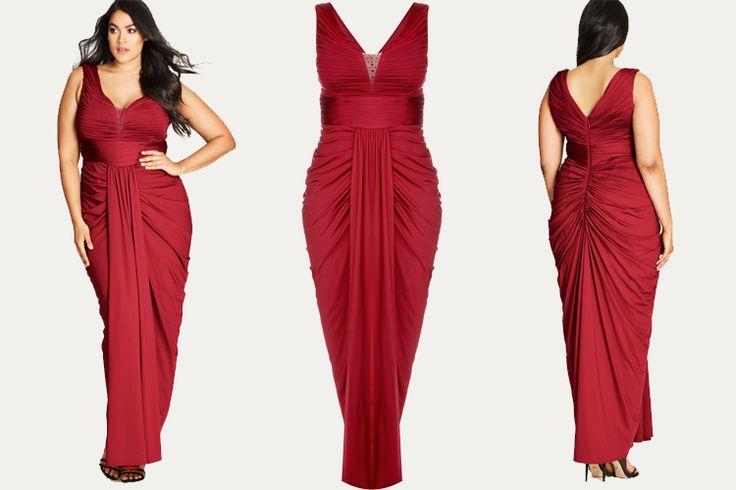 #PlusModelMag Plus Fashion Find: Seduce Me Maxi Dress from City Chic #PLUSmodelmag