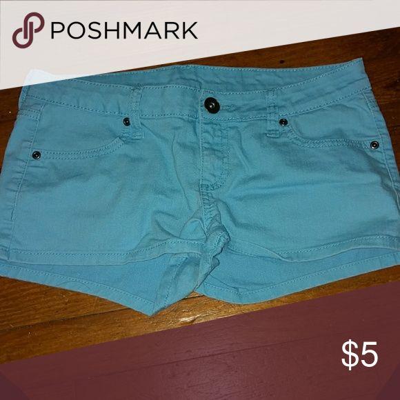 Aqua Jean Shorts Aqua Jean shorts City Streets Shorts Jean Shorts