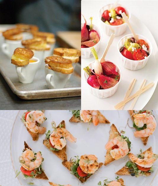 Food Love The Idea Of Having A Heavy Hors Doeuvres Reception