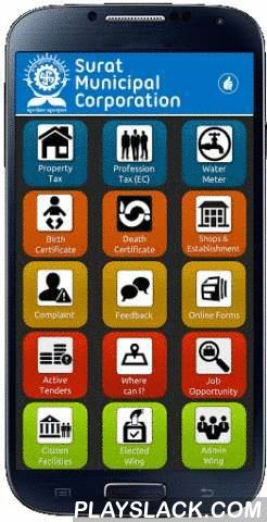 Surat Municipal Corporation  Android App - playslack.com , == SMC App ==SMC App is a mobile application developed by Surat Municipal Corporation. It enables the service delivery and information sharing using the latest mobile technology.== Download SMC App and you can ==• Check and Pay Outstanding or Advance Property Tax and register Mobile number for SMS alerts• Check and Pay Profession Tax (EC) • Check and Pay Water Meter Bills• Check and obtain Birth Certificate• Check and obtain Death…