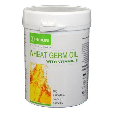 Wheat germ oil con vitamina E - Naturaplus