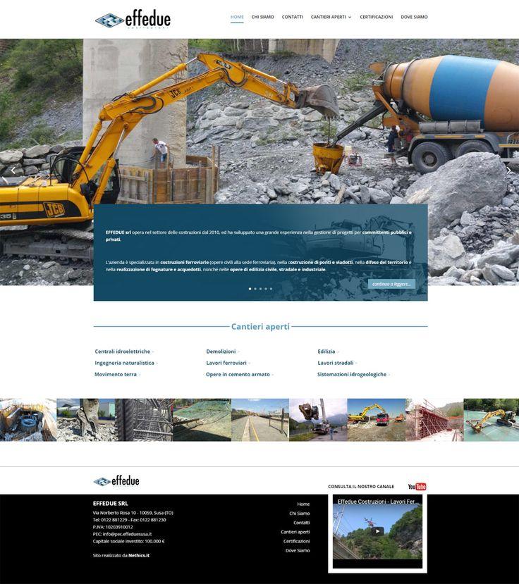Sito web realizzato per Effedue Costruzioni - http://www.effeduesusa.it