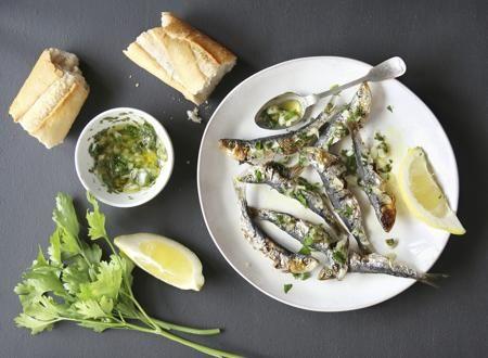 Sardines baguette
