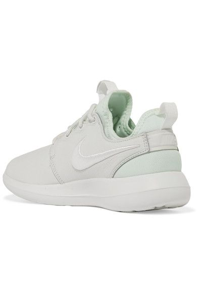 Nike - Roshe Two Textured-leather And Mesh Sneakers - White - US9