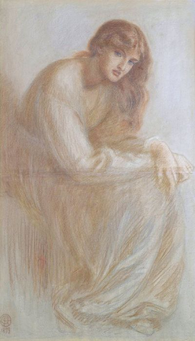 Образ женщины в искусстве прерафаэлитов, или загадка Алексы Уайлдинг. Д. Г. Россетти. Alexa Wilding