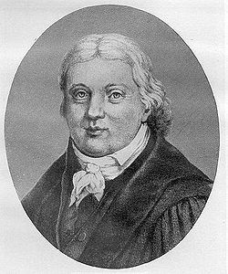 † Daniel Wyttenbach (August 7, 1746 - January 17, 1820) Dutch professor and librerian.