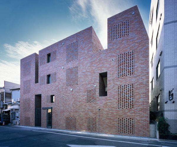 Perforated Brick Architecture  #Brick Pinned by www.modlar.com