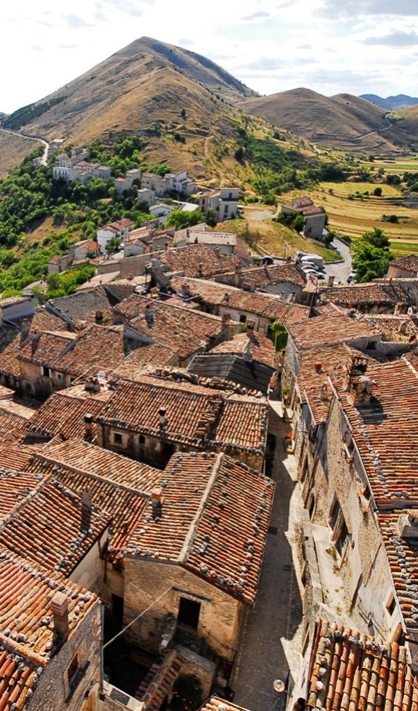 Visit some of the most beautiful towns in Italy, including Santo Stefano di Sessanio and Sulmona, where the ancient Roman poet Ovid was born.