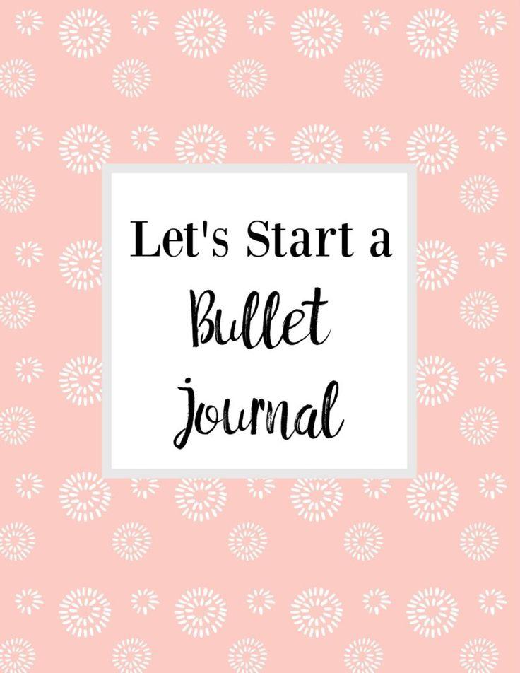 Let's Start A Bullet Journal