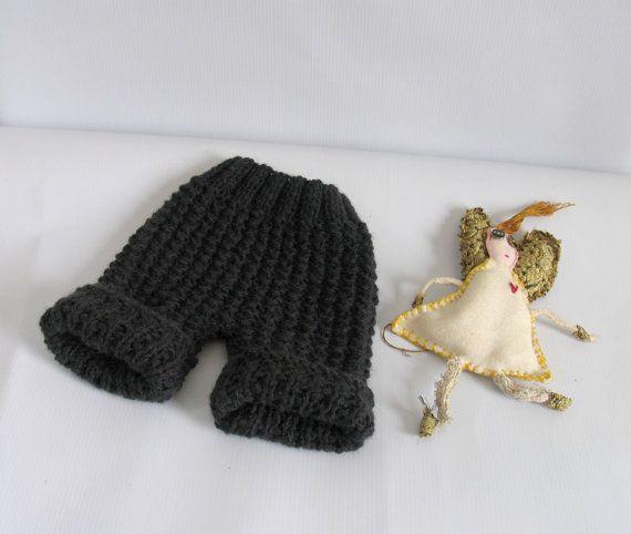 Newborn Knit Pants  Baby Knit Pants  Photo Prop by recyclingroom, $23.00