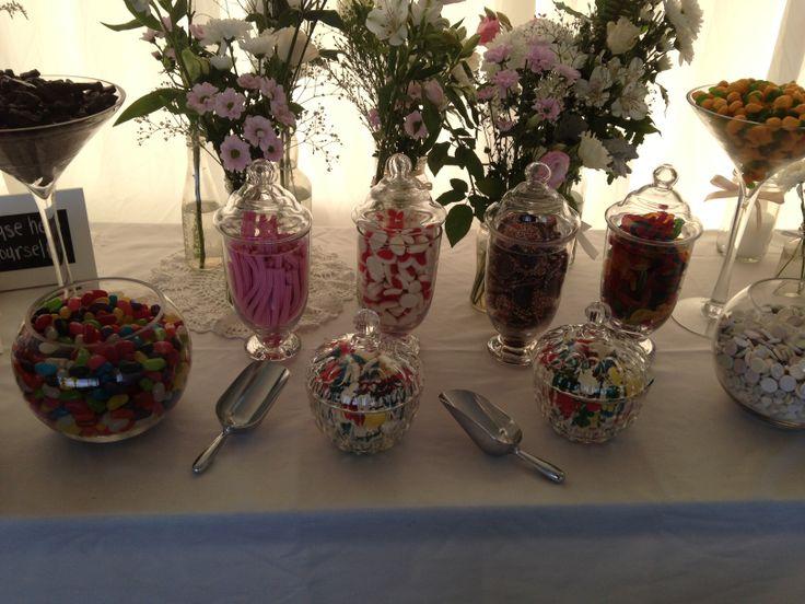 lolly buffet @ lake charm