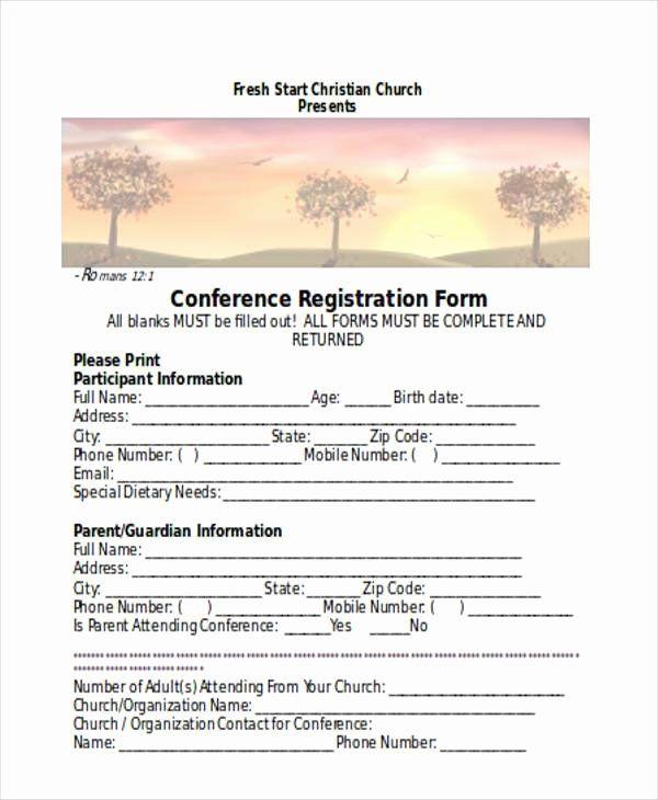 Church Registration Form Fresh Registration Forms In Word Registration Form School Report Card Registration