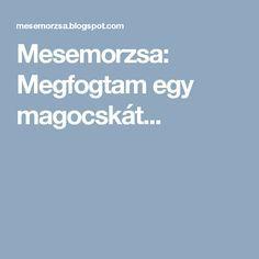 Mesemorzsa: Megfogtam egy magocskát...
