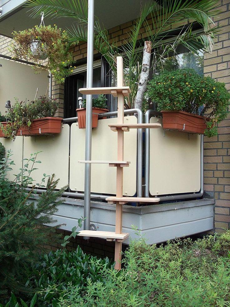 die besten 25 katzentreppe balkon ideen auf pinterest katzentreppe katzenleiter und kratzbaum. Black Bedroom Furniture Sets. Home Design Ideas