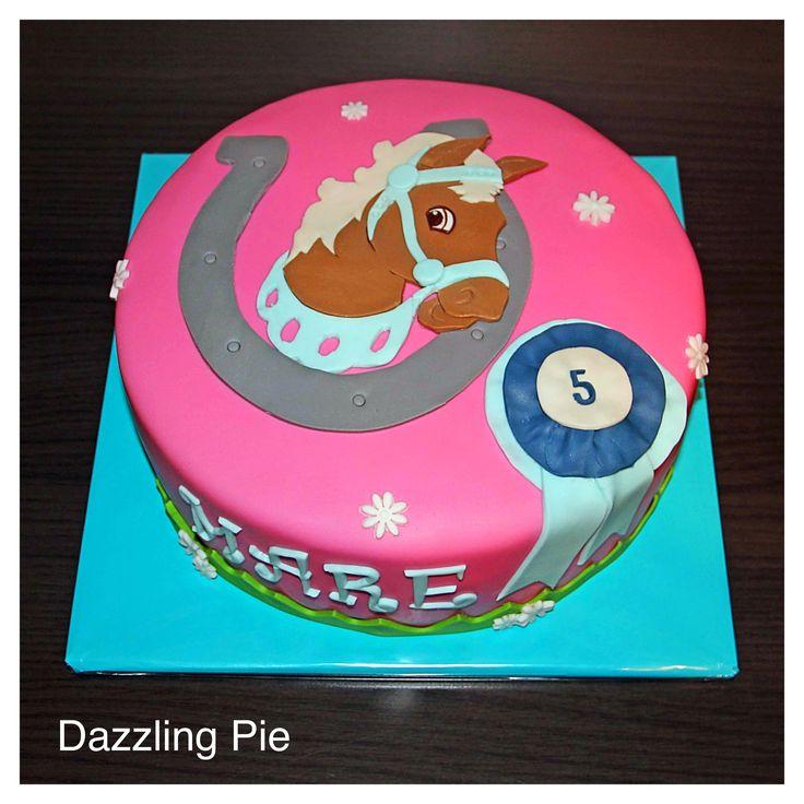 Paarden taart made by Dazzling Pie
