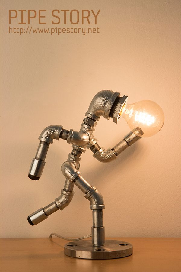[PIPE LAMP] PIPE STORY Produce and sell genuine handmade industrial vintage style pipe lamps. South KOREA http://www.pipestory.net Más