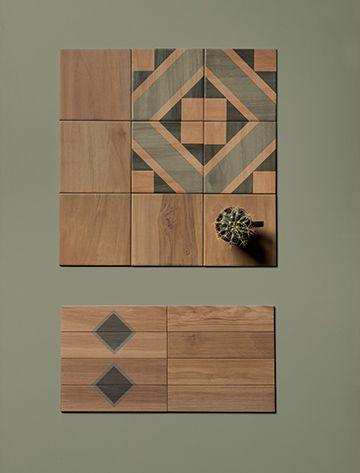 Pavimenti e rivestimenti in gres effetto legno Marca Corona