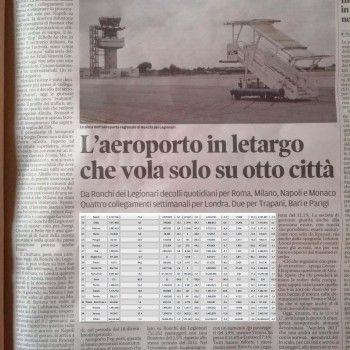 Trasporto aereo e passeggeri in Friuli V.G.