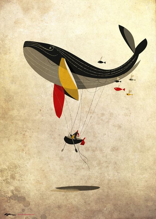 """i believe i can fly"" by Riccardo Guasco"